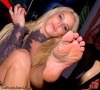 Spencer Scott Foot Fetish Bare Feet Soles Slender High Arches Toes